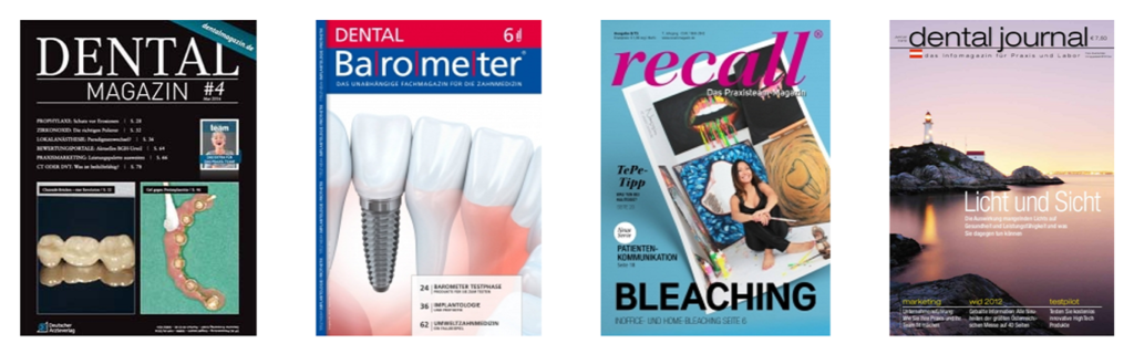 Frontpages Dentalmagazine